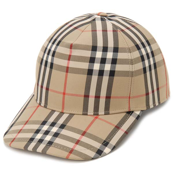 バーバリー BURBERRY キャップ 帽子 S/M/L メンズ レディース ヴィンテージチェック 8021444 ベースボールキャップ