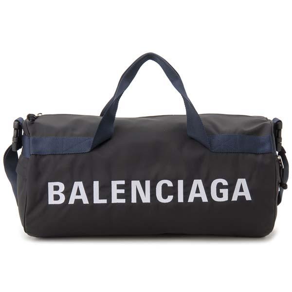 海外最新 バレンシアガ ブラック BALENCIAGA ボストンバッグ 581807 ドラムバッグ ブラック 581807 HPG1X 1090 ウィール WHEEL ウィール ジムバッグ ショルダーバッグ, SHOETIME:d663cb7c --- marketplace.socialpolis.io