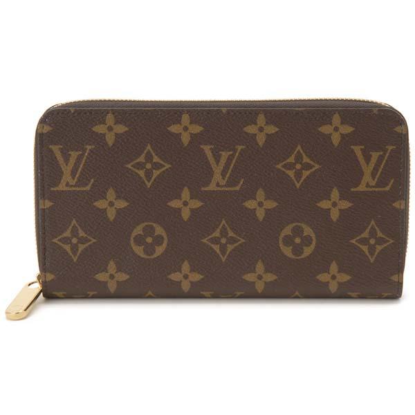 ルイヴィトン Louis Vuitton ラウンドファスナー長財布 レディース モノグラム ジッピーウォレット M41894 ローズバレリーヌ ピンク