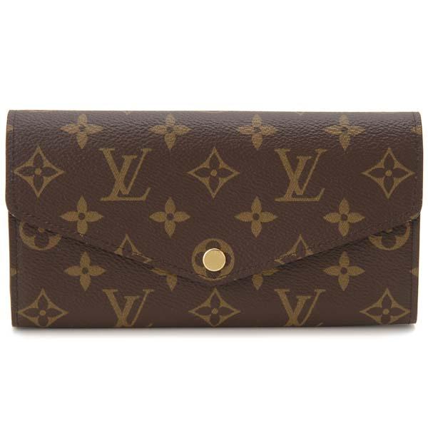 ルイヴィトン Louis Vuitton 長財布 レディース モノグラム ポルトフォイユ サラ M62235 ピンク