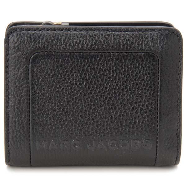 マークジェイコブス MARC JACOBS 二つ折り財布 レディース ブラック M0015107 001 コンパクト財布