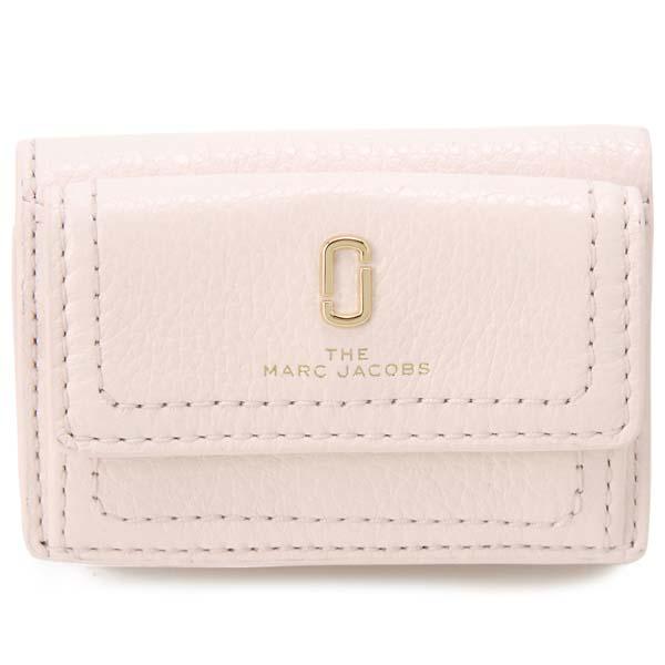 マークジェイコブス MARC JACOBS 三つ折り財布 レディース ピンク M0015413 694 スナップショット コンパクト財布