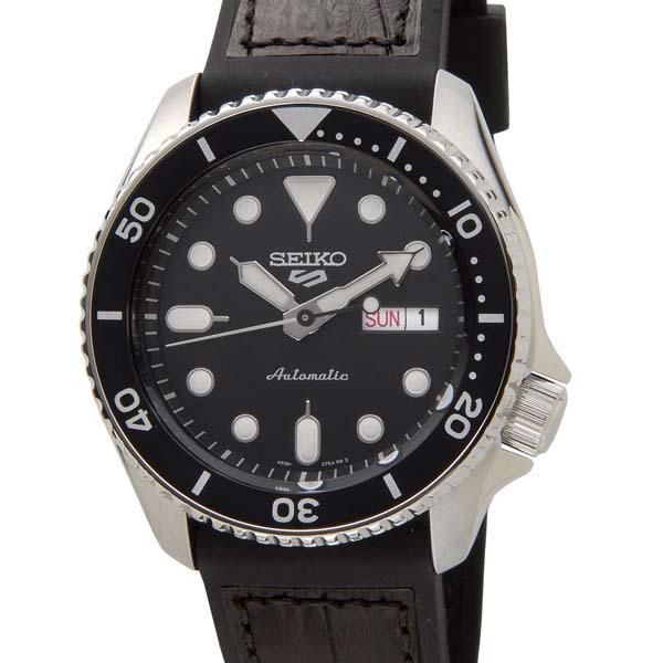 セイコー5 セイコーファイブ スポーツ メンズ 腕時計 SRPD55K2 SEIKO 5 Sports セイコー 自動巻き オートマチック ウォッチ ブラック [ポイント5倍キャンペーン][8/3~8/17]