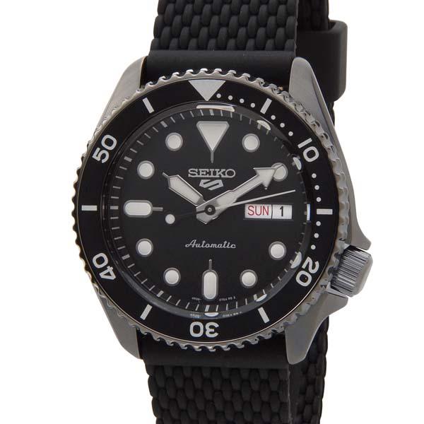 セイコー5 セイコーファイブ スポーツ メンズ 腕時計 SRPD65K2 SEIKO 5 Sports セイコー 自動巻き オートマチック ウォッチ ブラック [ポイント5倍キャンペーン][8/3~8/17]