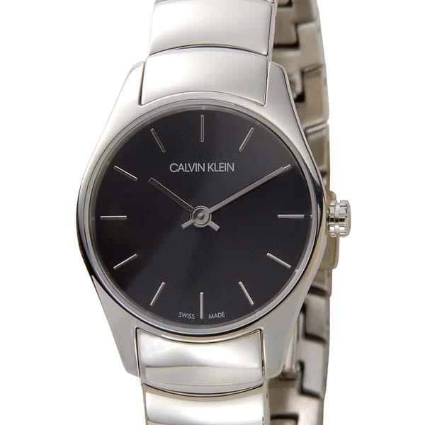 カルバンクライン Calvin Klein 腕時計 CK レディース ブラック K4D2314V クラシック トゥー スイス製 [ポイント5倍キャンペーン][8/3~8/17]
