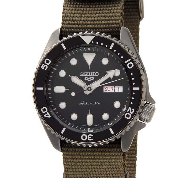セイコー SEIKO セイコーファイブ 5スポーツ メンズ ブラック SRPD65K4 セイコー5 腕時計 セイコーウォッチ [ポイント5倍キャンペーン][8/3~8/17]