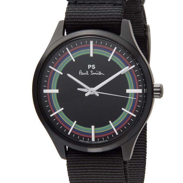 100%本物 ポイント5倍(3/4-3/11) ポールスミス Paul Smith 腕時計 メンズ ブラック BT2-840-52 ヴェロドローム 男性用, クッチャンチョウ 21c88b8c