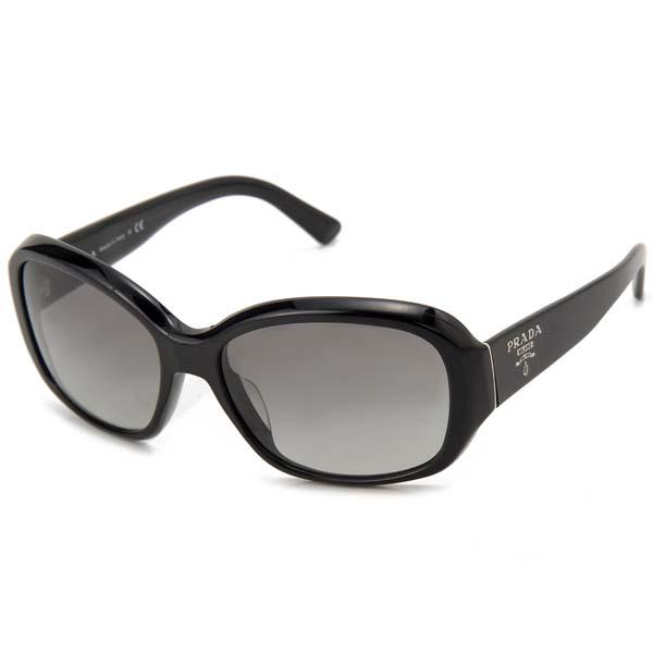 プラダ PRADA サングラス メンズ レディース ブラック 31NSA 1AB 3M1 眼鏡 メガネ
