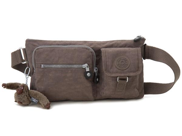 キプリング Kipling Bag 13192 757 Waist Porch Body Monkey Brown Lady S