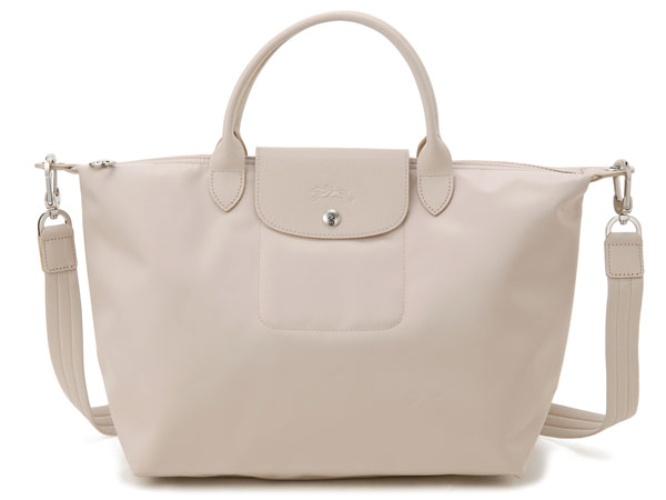 LONGCHAMP Longchamp bags tote bags Le pliage neo 1515 578 005 BEIGE beige  2WAY tote bags ladies bags c6913cdf2ad10