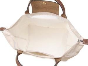 Longchamp LONGCHAMP 1623089555 puriajubaggu M大手提包灯浅驼色