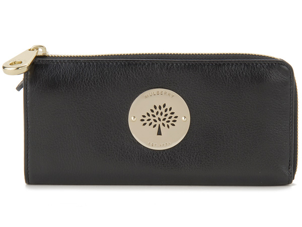dc833e456f s-select  Mulberry MULBERRY long wallet RL8601-571-A100 black wallet ...