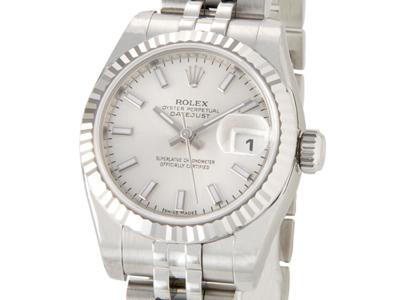 ロレックス ROLEX 179174 デイトジャスト シルバー レディース 腕時計
