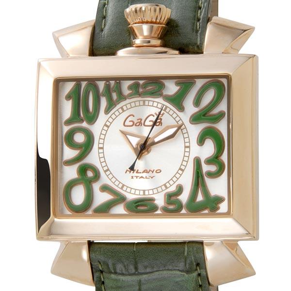 ガガミラノ Gaga Milano 6001.2 NAPOLEONE ナポレオーネ 48mm グリーン メンズ 時計
