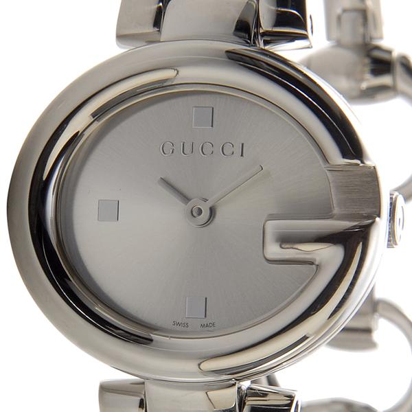 25b14a24fa4 GUCCI Gucci YA134502 guccissima small watch silver ladies watch Rakuten  shopping Marathon