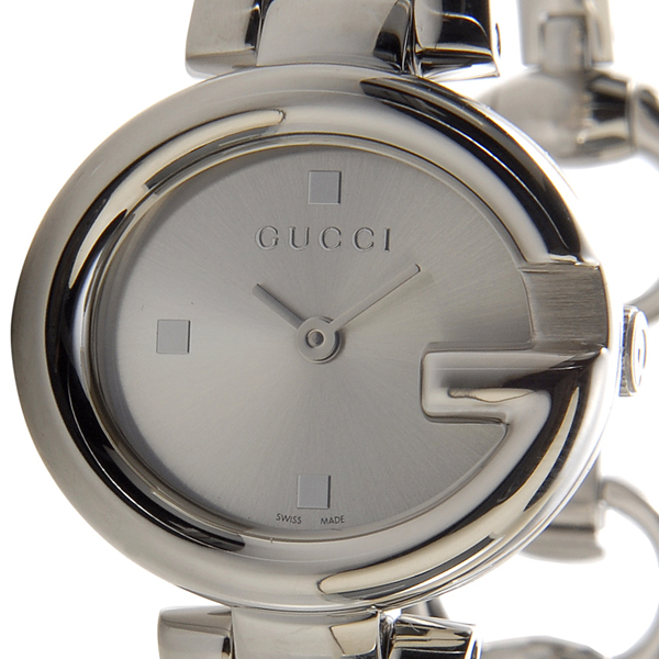 f5d5c8914b1 GUCCI Gucci YA134502 guccissima small watch silver ladies watch Rakuten  shopping Marathon