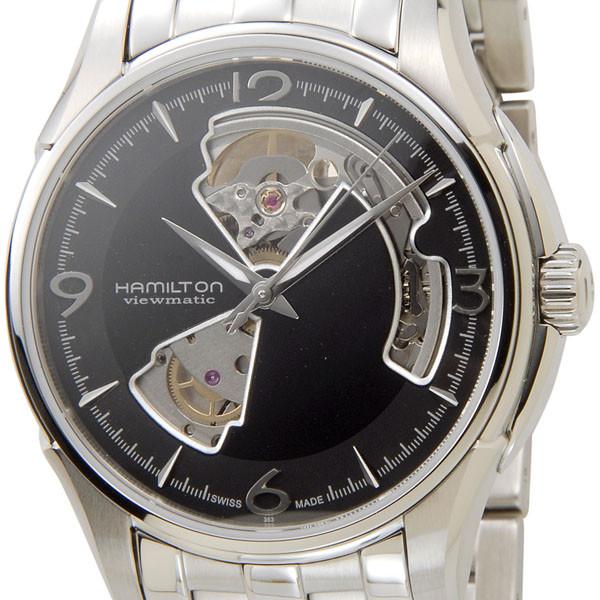 ハミルトン HAMILTON H32565135 ジャズマスター ビューマチック オープンハート 自動巻き ブラック×シルバー メンズ腕時計 新品