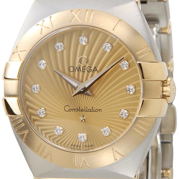 オメガ OMEGA 腕時計 123.20.27.60.58.001 コンステレーション ブラッシュ レディース 新品