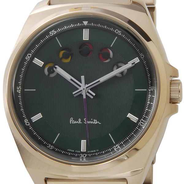 Paul Smith Paul Smith BM5-020-41 New Five Eyes Horizontal人手錶信賴的日本製造