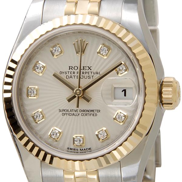ロレックス ROLEX デイトジャスト 179173 G-IS レディース 腕時計