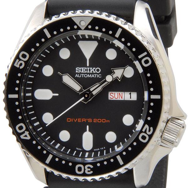 セイコー SEIKO SKX007K オートマチック ダイバー ブラックボーイ 自動巻き メンズ腕時計 セイコーウオッチ 新品