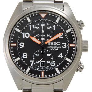 セイコー SEIKO メンズ 腕時計 海外モデル SNN235P1 クオーツ クロノグラフ ブラック セイコーウオッチ 新品
