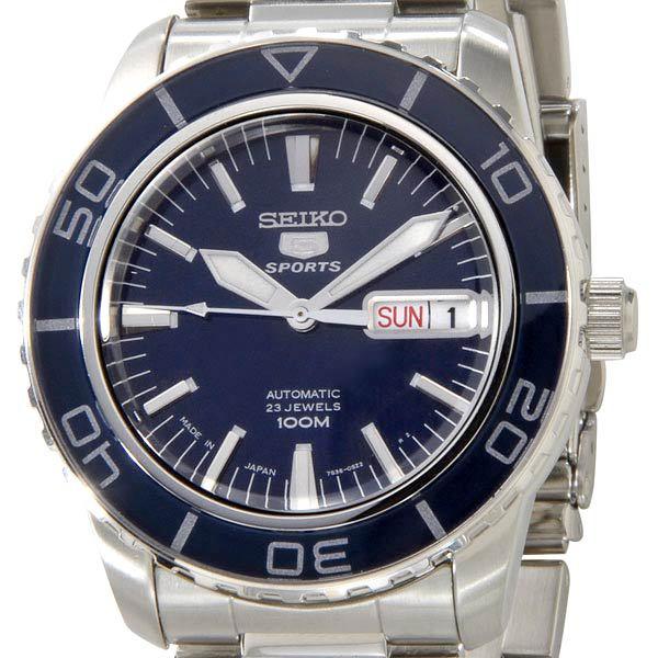 セイコー SEIKO メンズ腕時計 SNZH53J1 ブルー×ブラック×シルバー 【カード決済可】【YDKG-m】 新品 [ポイント5倍キャンペーン][8/3~8/17]