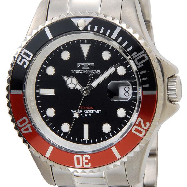 科技科技看 T4323IR 原始模型作出的全钛潜水员模型重量 95 g x 红色男装黑色