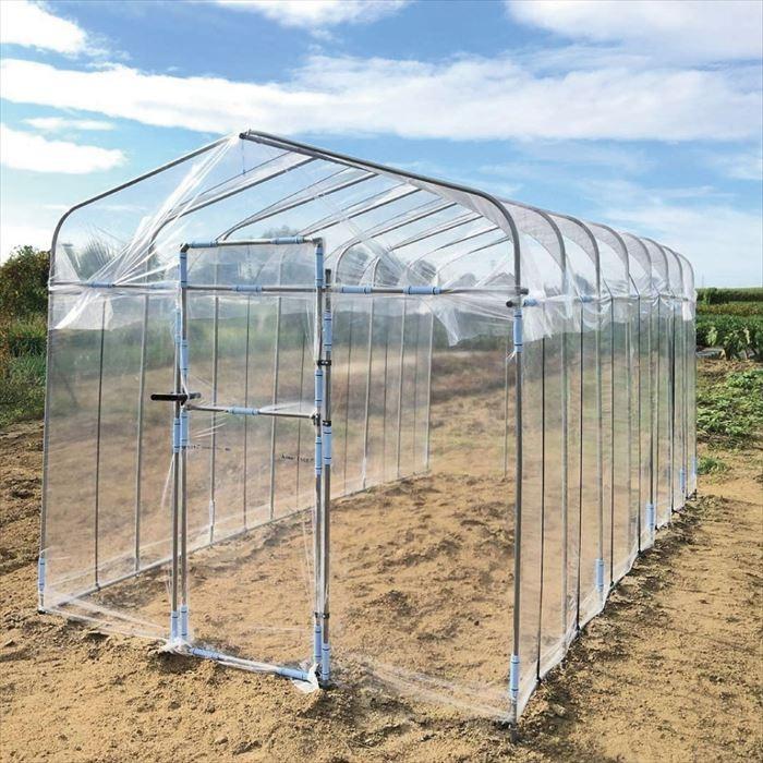 栽培ハウス 人気急上昇 家庭菜園 農業 送料無料 ダイム マラソン期間ポイント5倍 2020A/W新作送料無料 DAIM ダイムハウスドア付2坪