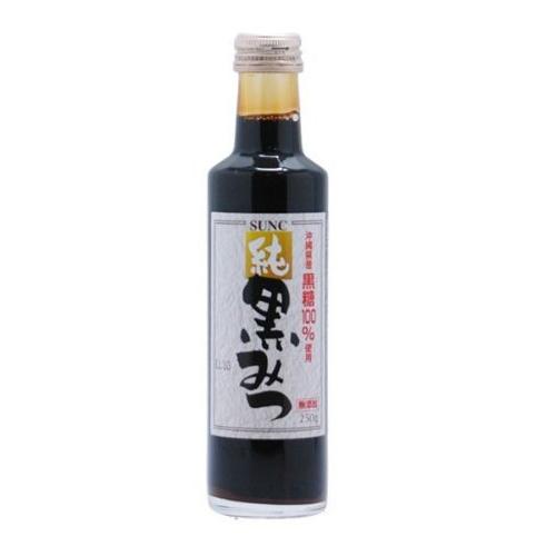期間限定 沖縄県産黒糖のみ使用 完全無添加 無着色の高級黒みつ 開店祝い SUNC 黒みつ 純 黒蜜
