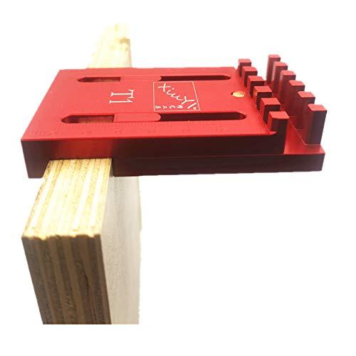 サイズ:T1 CarAngels アルミ製 木工ゲージ 厚さ測定器 ほぞつぎ用測定定規 テーブルソービット トリマービット T1 凹凸ゲージ お気にいる 大工測定用品 丸鋸用 登場大人気アイテム