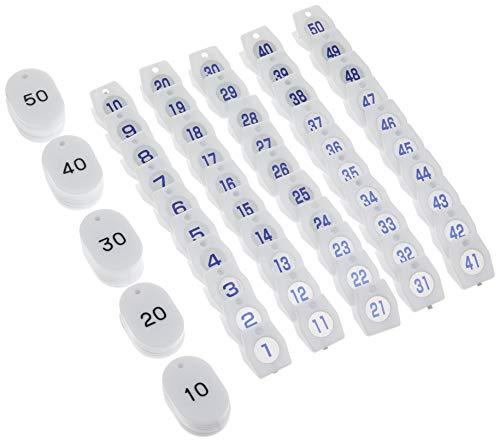 シンビ クローク札01 現金特価 ホワイト 150 新作多数 日本 ユリア樹脂 50個セット ZKL0903