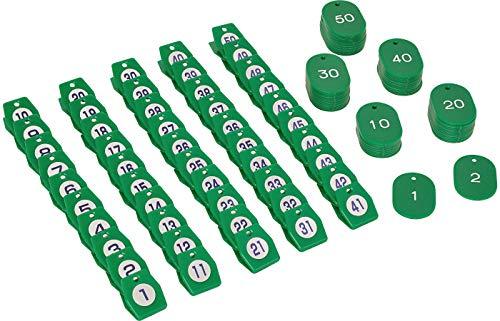 シンビ クローク札 01 グリーン 低価格 50 50個セット ZKL0904 日本 ユリア樹脂 予約販売品