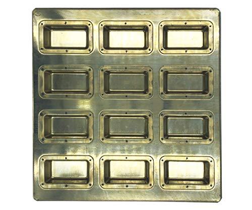 新作 大人気 松永製作所 シリコン加工 黄金深型フィナンシェ天板12P 内祝い ゴールド MS85