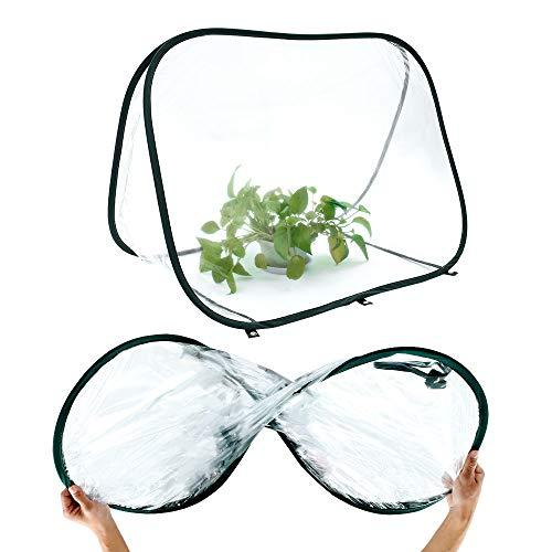 ビニールハウス ミニ温室 家庭用 室内 小型 PVC ガーデン温室 花園温室 ホーム温室 園芸用ビニールハウス 折りたたみ 防水 家庭菜園 植物保温用