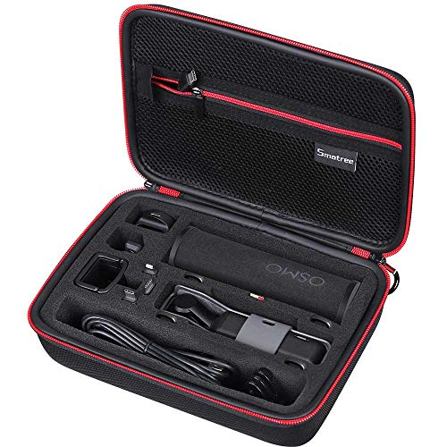 Smatree DJI Osmo Pocket 2 収納ケース EVA ハードケース 新作からSALEアイテム等お得な商品 満載 1 キャリングバッグ 全面保護 大容量 防衝撃 D180 日本全国 送料無料 18cm 持ち運び安い 1アクセサリー全部収納可能 防水 8cm 25cm