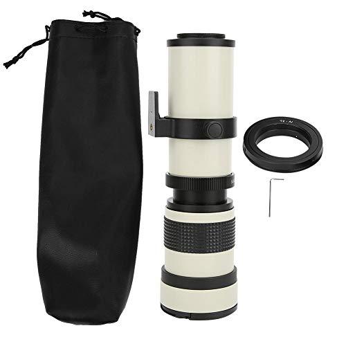 別倉庫からの配送 捧呈 望遠レンズ 手動調整 420-800MM超望遠ズーム 遠くの風景 コンサート ニコンFマウントカメラ用 バードウォッチングなどの撮影に適用 野生動物