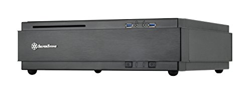 SilverStone Miloシリーズ PCケース 大人気 SST-ML07B Mini-DTX 全国一律送料無料 Mini-ITX