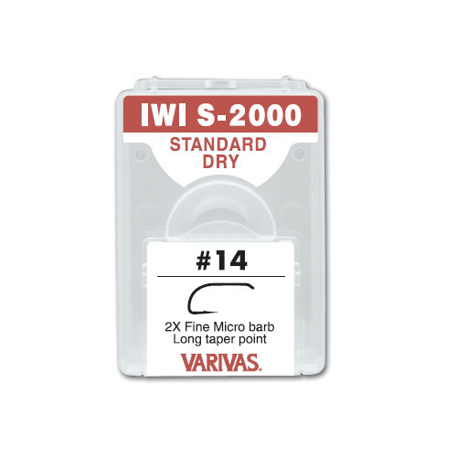 【3個以上 送料無料】 VARIVAS / バリバスIWI S-2000 フライフック