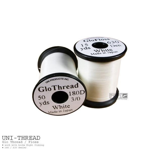 3個以上 送料無料 UNI Productsユニ スレッド フロス 夜光 グロー 業界No.1 贈与