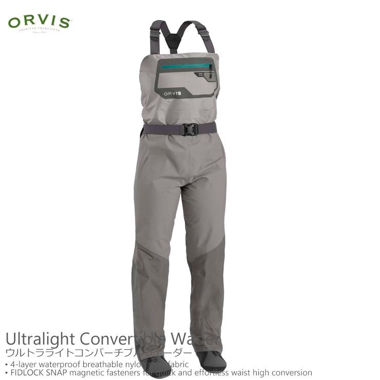 ORVIS / オービスウルトラライトコンバーチブルウェーダー女性用
