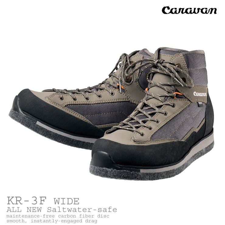 caravan / キャラバンウェーディングシューズ KR_3F WIDE