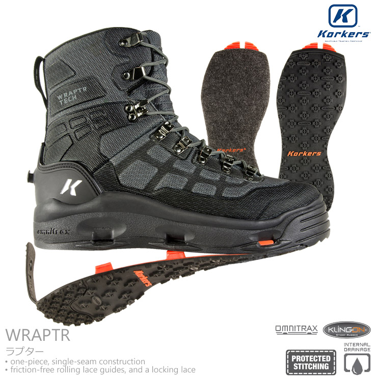 Korkers / コーカーズWRAPTR ラプター