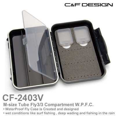 送料無料 フライボックス Camp;F セール価格 シーアンドエフ WPフライケースCF-2403V ※アウトレット品 DESIGN