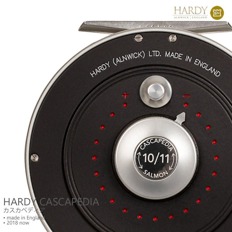 英国製 HARDY ハーディーCASCAPEDIAカスカペディア 4/5 TROUT