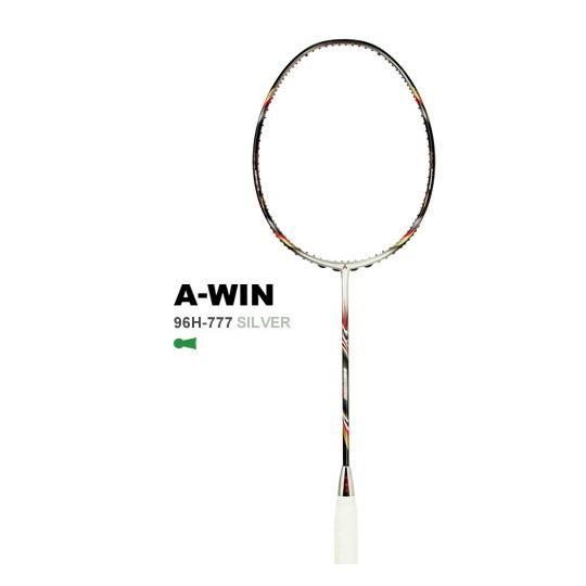 A-WIN / アーウィン 96H-777 SILVER 96ホール仕様 バドミントンラケット 【オススメガット&ガット張り工賃無料】