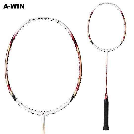 【超軽量 楽飛び】 A-WIN / アーウィン SuperLight700R レッド  バドミントンラケット 【オススメガット&ガット張り工賃無料】