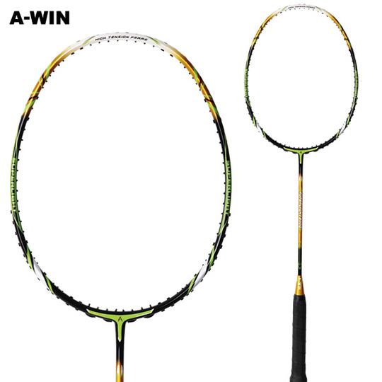 【超軽量 豪速攻撃】 A-WIN / アーウィン SuperLight800G グリーン バドミントンラケット 【オススメガット&ガット張り工賃無料】