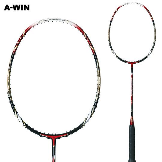 【超軽量 豪速攻撃】 A-WIN / アーウィン SuperLight800R ワインレッド バドミントンラケット 【オススメガット&ガット張り工賃無料】