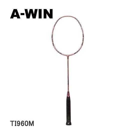 A-WIN / アーウィン バドミントンラケット TI960M (96ホール仕様) 【オススメガット&ガット張り工賃無料】